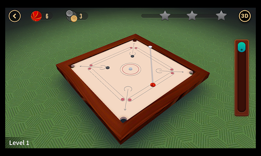 Multiplayer Carrom : 3D  captures d'écran 6