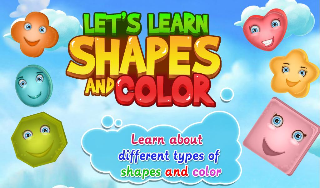 Let's Learn Shapes And Colors- screenshot