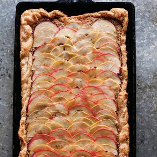 Apple Frangipane Tart.