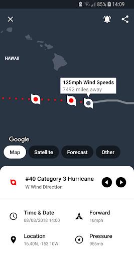 My Hurricane Tracker Pro - Storm & Tornado Tracker screenshot for Android