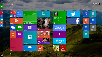 Photo: Microsoft Windows 9 Design Concept: Docked Compact Modern Taskbar on Start Screen  https://www.youtube.com/watch?list=PLDLw5owfnUAxlJKuqdnNoLVcN7XizEBPU&v=-cUJhaZ0Xq4