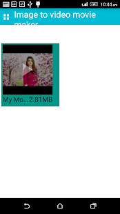Image to video movie maker Screenshots