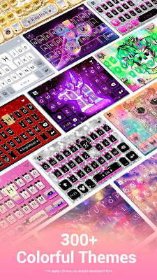 Kika Keyboard - Emoji Keyboard, Emoticon, GIF - screenshot