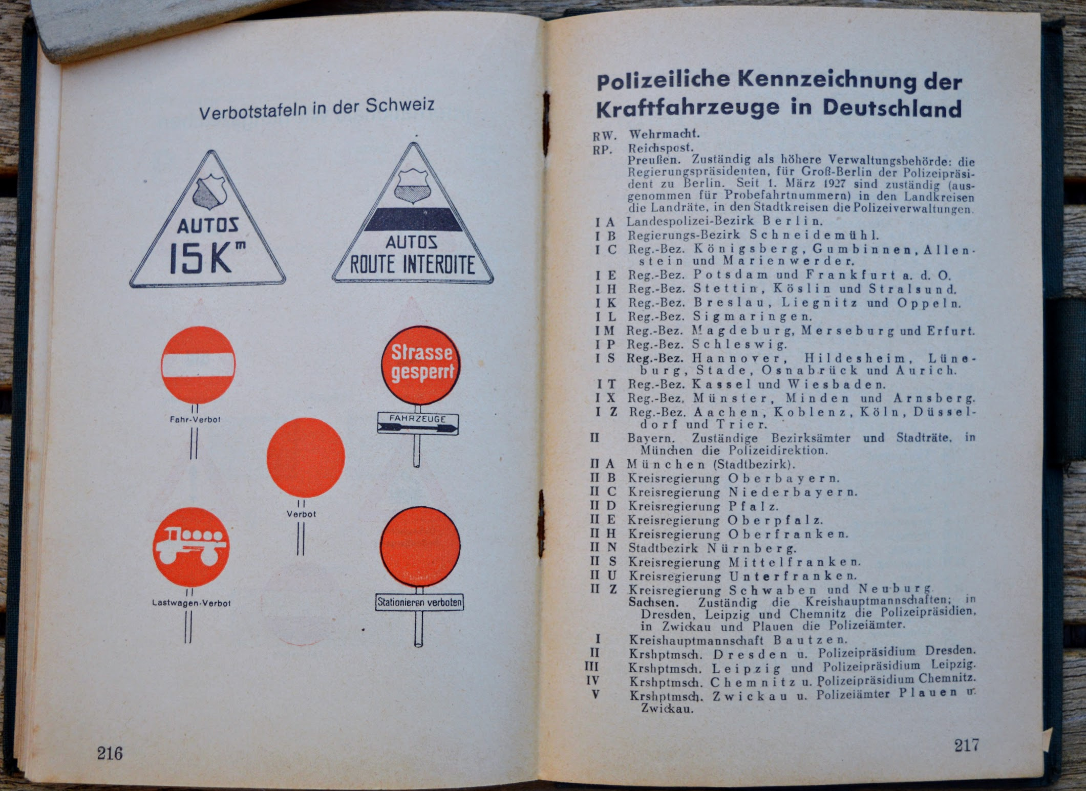 Luft- und Kraftfahrt Taschenkalender - 1931