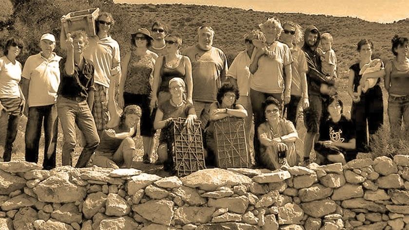 Participantes en un taller de balates.