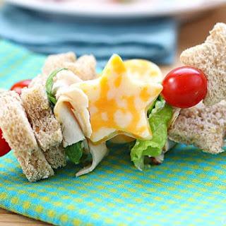 Sandwich Kabobs.