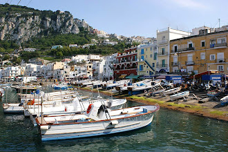 Photo: Boote vor Marina Grande auf Capri