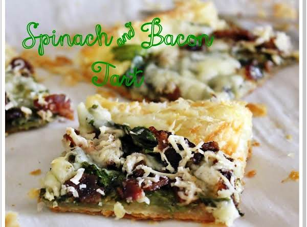 Spinach And Bacon Tart Recipe