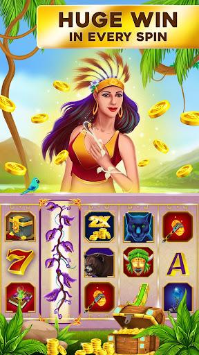 Slots - Blue Diamond Casino Jackpot Party 1.2 screenshots 1