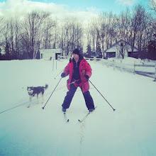 Photo: #DescubriendoQuebec #Skijoring #Outaouais #EscapadeEskimo