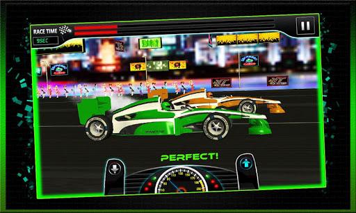 スポーツカーパーフェクトドラッグレース