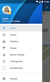 Runtastic Running PRO Screenshot 1