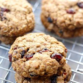 Whole Wheat Oatmeal Berry Cookies.
