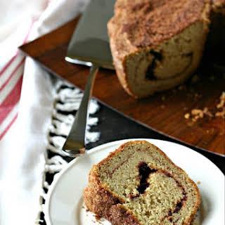 Gluten Free Sour Cream Coffee Cake.