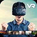VR 360 Adventure Fun Videos icon