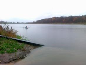 Photo: ...a ja skończę dzisiejsze pływanie tuż przed ujściem Ślęzy