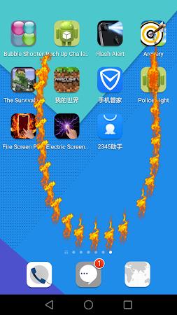 Fire Screen Prank 3.6 screenshot 802309