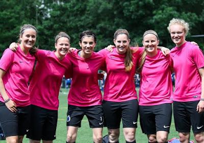 Contrairement à leurs homologues masculins, les dames du FC Bruges se portent bien