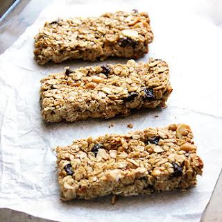 Oatmeal Raisin Granola Bars Healthy Recipes
