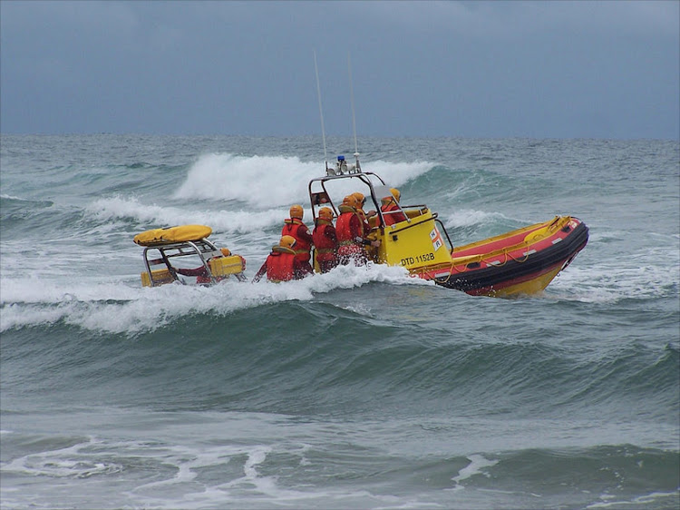 Members of the National Sea Rescue Institute Durban transported a doctor to a bulk vehicle carrier on Sunday to conduct a Covid-19 test on a sailor.