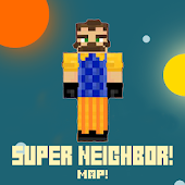 Super neighbor Map  for MCPE! icon