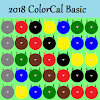 2018 ColorCal USPS color coded letter carriers APK
