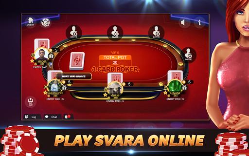 Svara - 3 Card Poker Online Card Game 1.0.11 screenshots 15