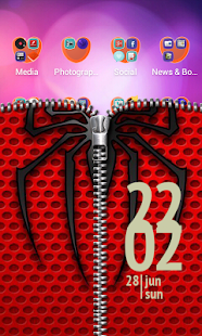 Free Spider Zipper Lock Screen APK for Android