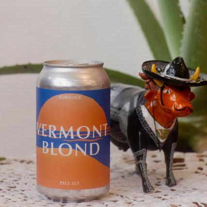 Burdock, Vermont Blonde 4-Pack Beer