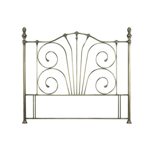 Serene Jessica Headboard Antique Brass