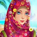 Hijab girl Beautiful Dressup and Makeup icon