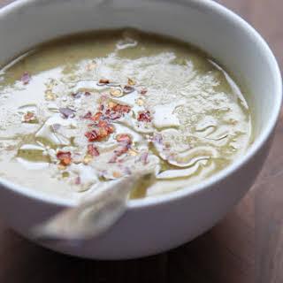 Broccoli White Bean Soup.