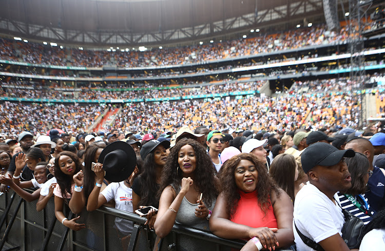 Seven suspects have been arrested for the Global Festival robberies that took place after the concert.