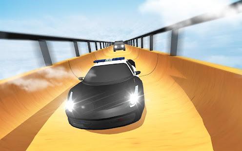 Tải US Police Mega Ramp Car Stunts Racing miễn phí