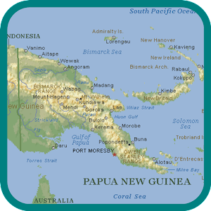 Papua New Guinea Map Android Apps On Google Play - Papua new guinea map
