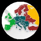 Quiz Mappa Europa. Paesi europei e capitali icon