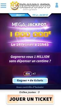 Bravoloto : le premier loto gratuit à 1M€ !