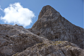 Photo: Cima 12 Apostoli con la chiesetta scavata nella roccia
