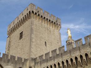 Photo: 2. den - Jedna z deseti věží - zvonice (Palais des Papes, Avignon)