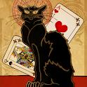 Black Cat Solitaire - Tri Peak icon