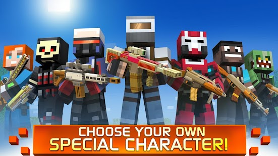 Craft Shooter Online: Guns of Pixel Shooting Games- screenshot thumbnail