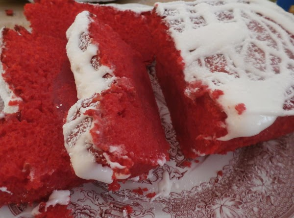 Red Velvet Loaves W/ Cream Cheese Glaze Recipe
