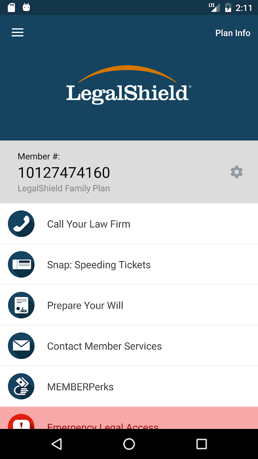 LegalShield - Legal Protection- screenshot