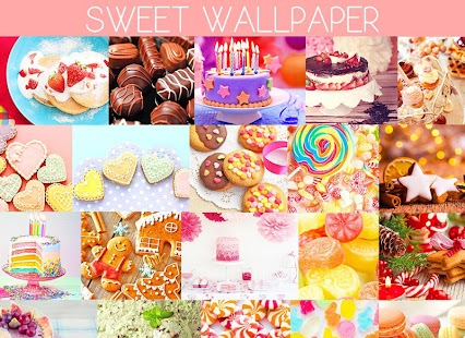 Wallpaper Sweets - náhled