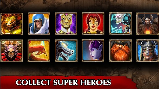 Legendary Heroes MOBA Offline Screenshot