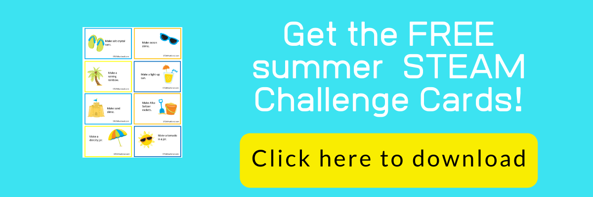 summer stem challenge cards