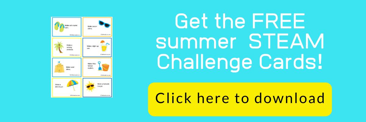 summer stem challenge cards