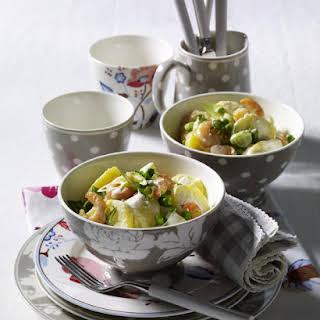 Shrimp and Potato Salad.