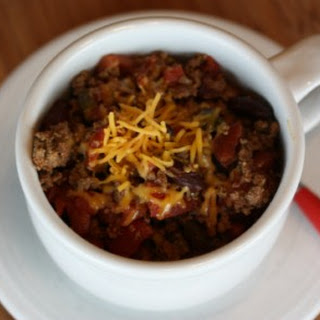 Easy Crock Pot Chili.