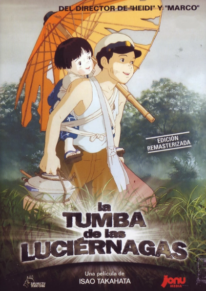 La tumba de las luciérnagas, película anime.
